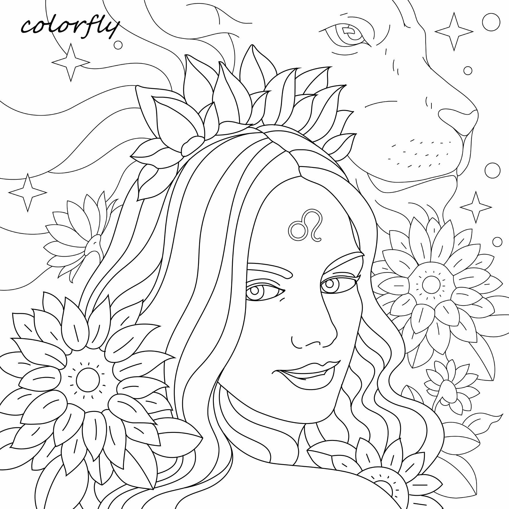 Pin By Loura Marks On Printables Flower Art Drawing Coloring Pictures Art