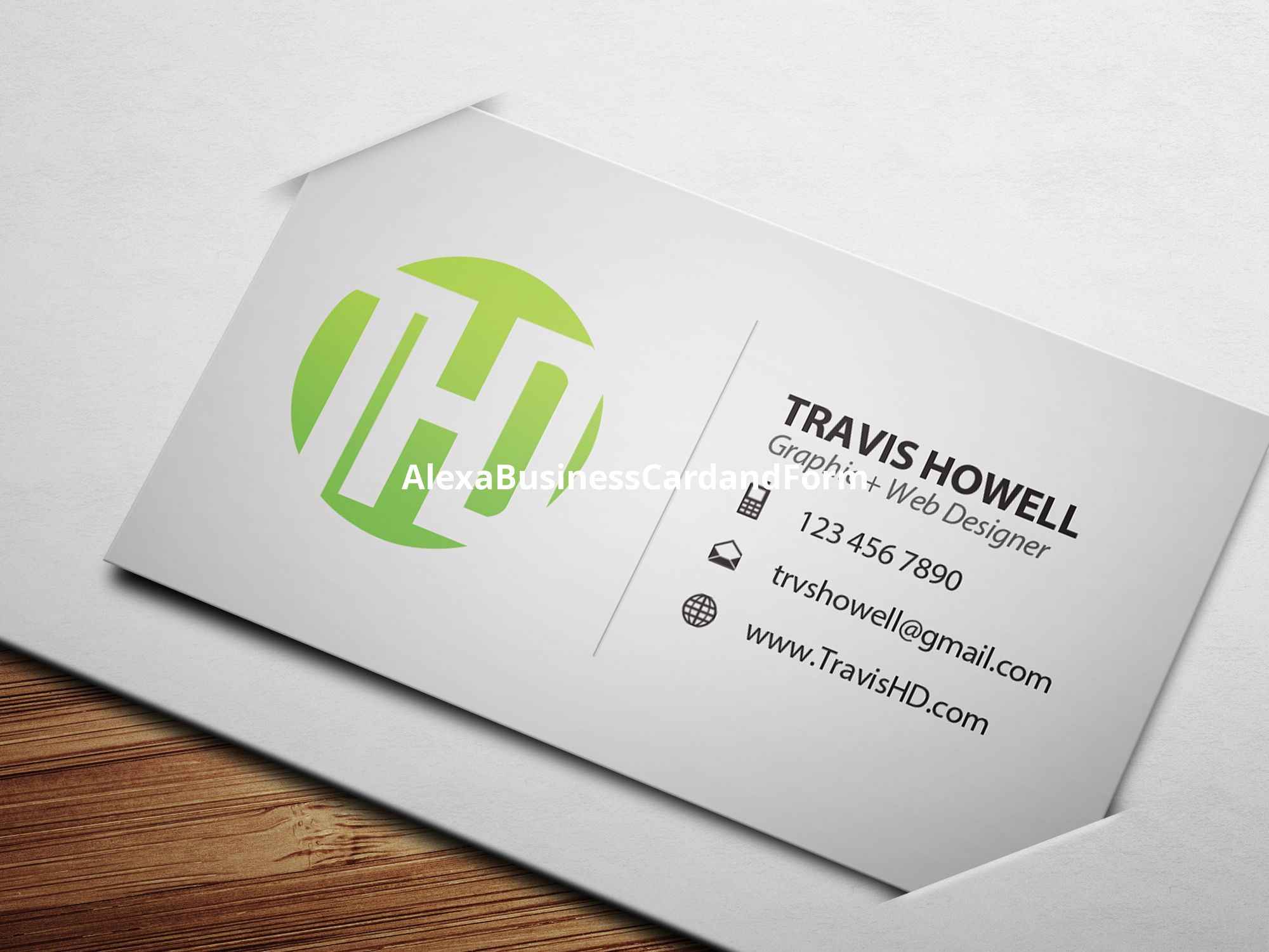 Kostenlose Online Business Card Template Maker Mit Online