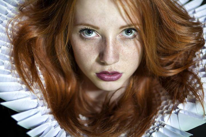 Striking Portraits of Gorgeously Freckled Redheads by Maja Topčagić - My Modern…