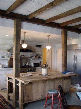 poutres bois et lambris blanc plafond pinterest vieilles granges photos et grange en bois. Black Bedroom Furniture Sets. Home Design Ideas