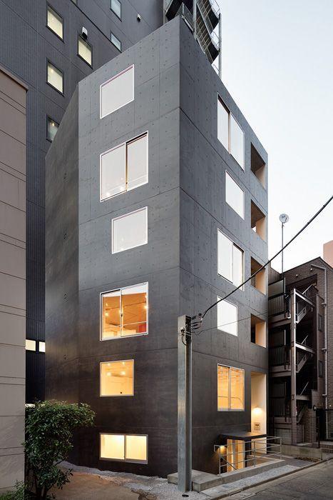 Soeda . Housing of Atago . Tokyo (1)