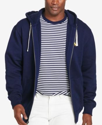 Polo Ralph Lauren Men s Big and Tall Classic Fleece Full Zip Hoodie -  Cruise Navy 4XLT 6c0830455