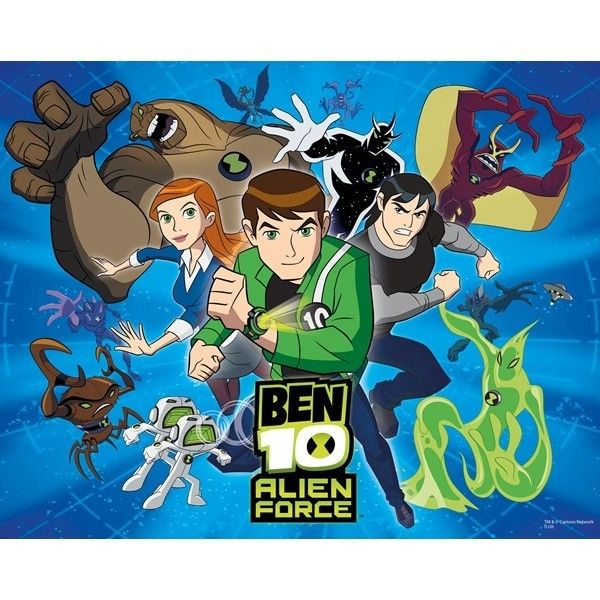 Fotomural Ben 10 Alien Force 40397 Ben 10 Alien Force Dibujos Animados Ben 10