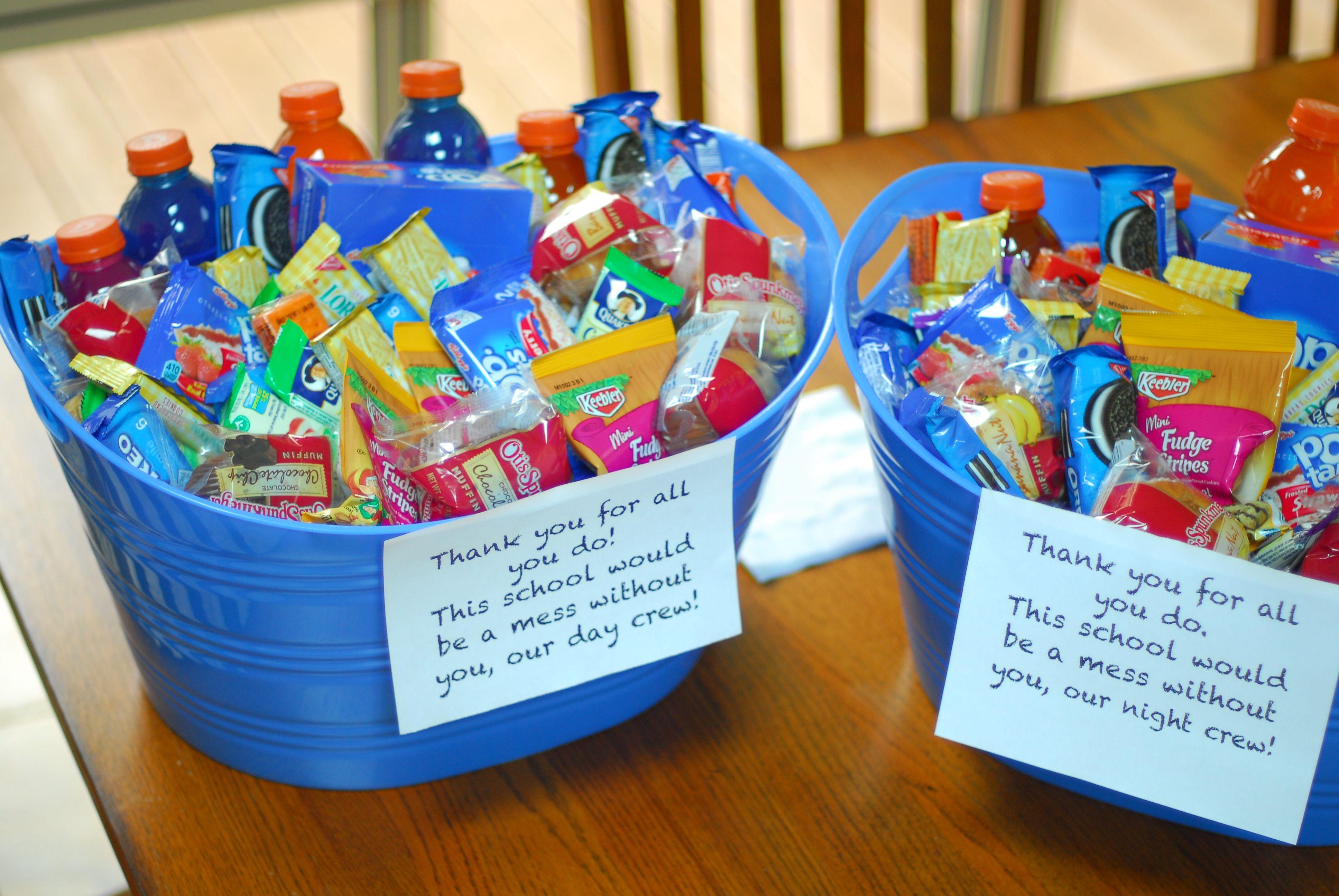 staff appreciation day ideas