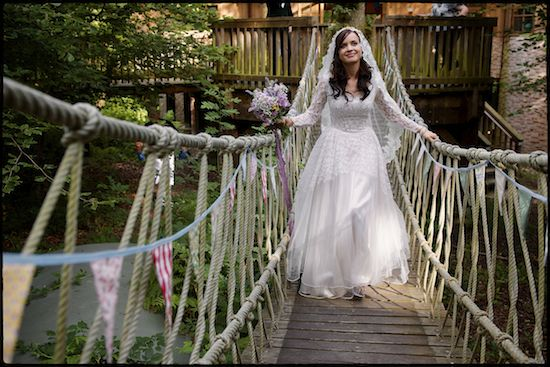 New Forest Treehouse Study Centre Wedding