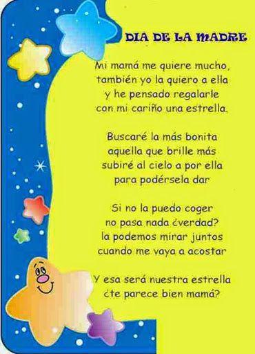 Versos Bonitos Para El Día De La Madre Feliz Día De La Madre Dia De Las Madres Poema Para La Madre