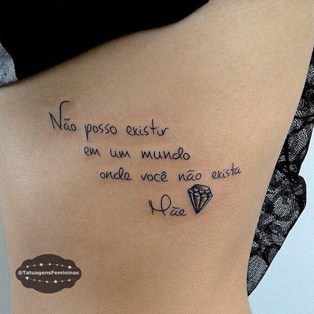 Pin De M I R E L L E S A N T O S Em Tatuagens Em Frase