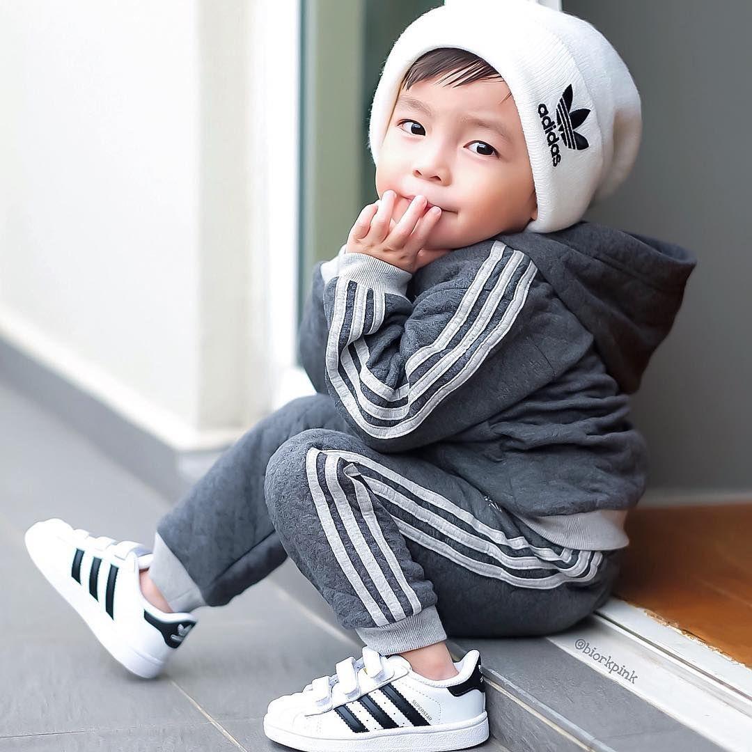 e109709b9b1 Baby Boy Clothing° ʀᴀʏᴅᴇɴ • ʟɪᴍ ➌yrs @biorkpink via Instagram #adidas