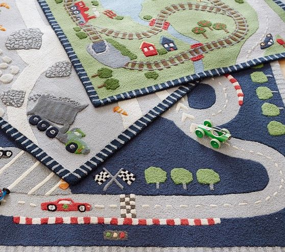 Race Car Rug Pottery Barn Kids