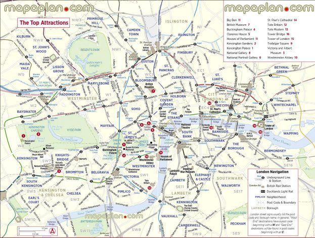 london maps city sightseeing free printable trip planner map an image part of tour of