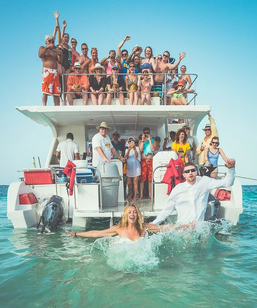 914eab19287d1 Lindsay and Andrew s Santa Maria Catamaran Party Boat Punta Cana ...
