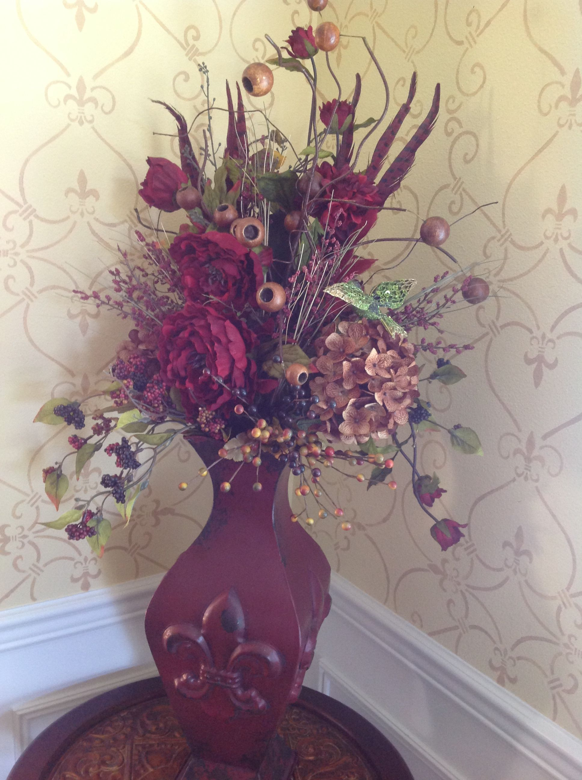Fake Floral Arrangements For Home Silk Flower Arrangement Furniture And Accessories For The