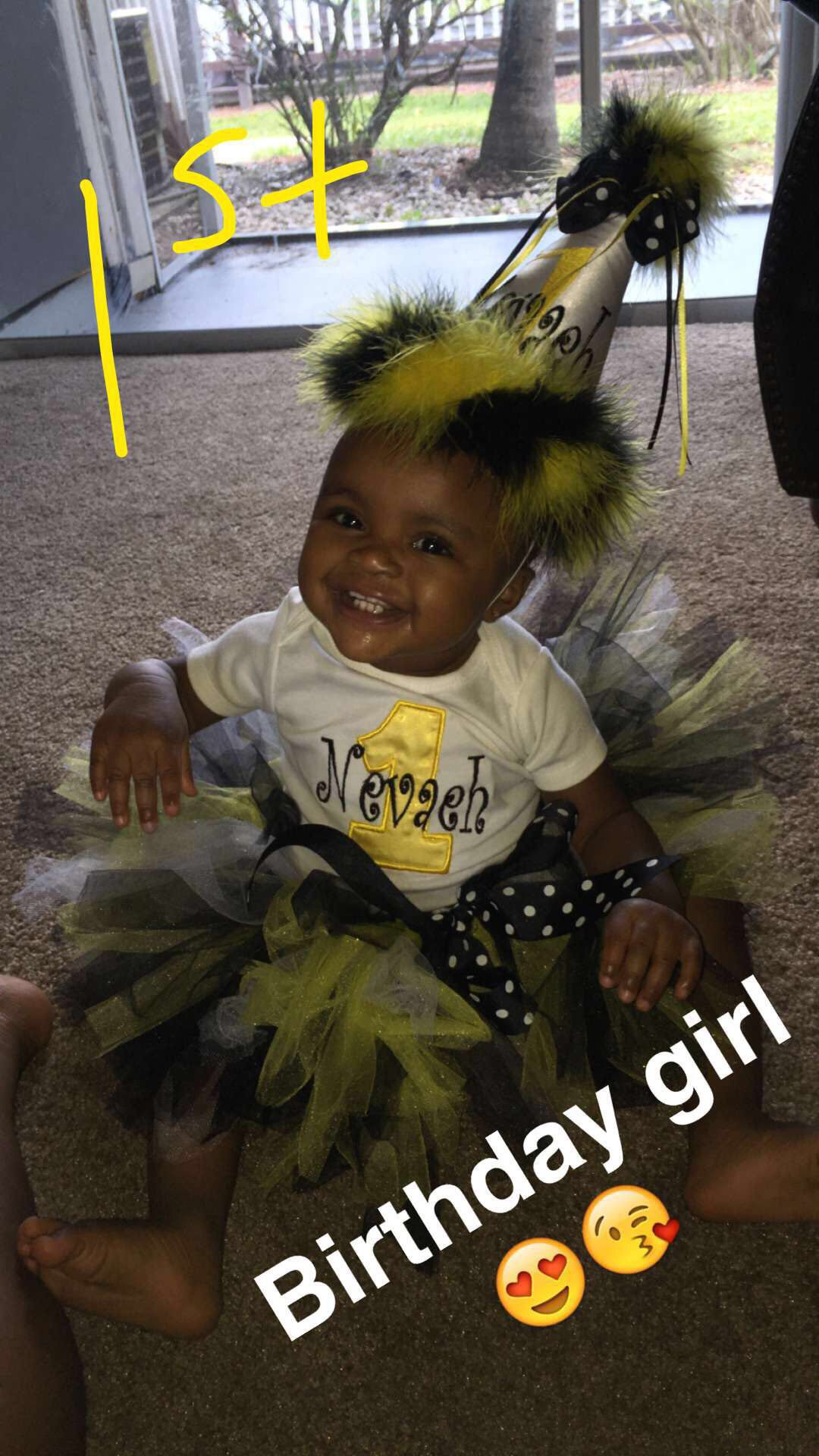 Bumblebee custom outfit. Bumblebee Outfit Custom  Lil girls  Little girls Birthday  1st birthday