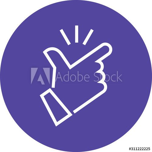 Fingers Snapping Hand Gesture Outline Icon , #spon, #Hand, #Snapping, #Fingers, #Icon, #Outline #Ad