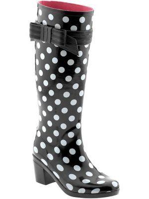 27fce6119d0d Kate Spade Randi Too Boot Tall rainboot Bow (( Good looking twat kickers!!!  ))