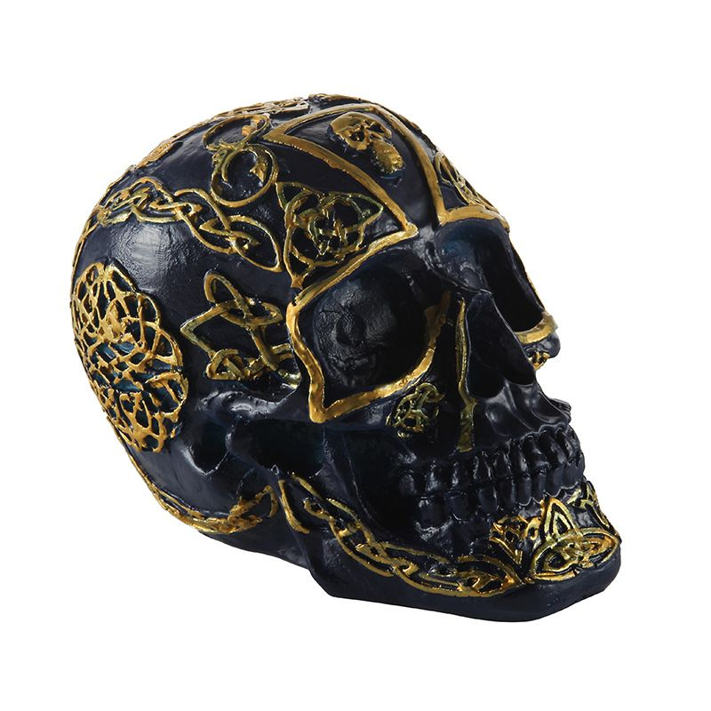 Quality Art Souvenir Gifts Resin Skull and Bones Halloween - skull halloween decorations