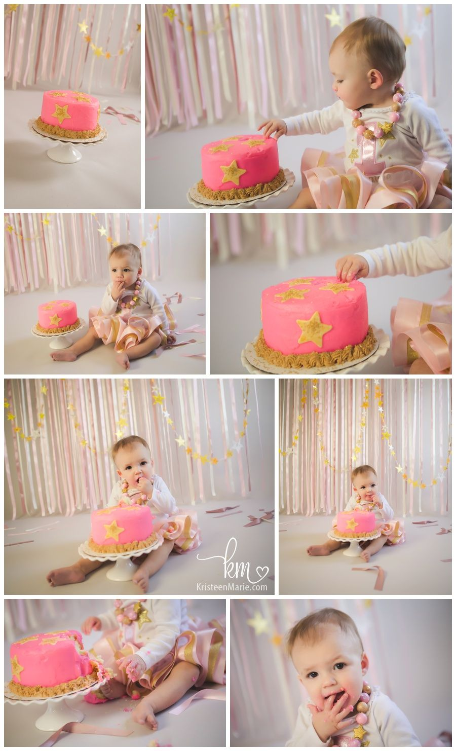 Twinkle Twinkle Little Star Cake Smash Session Zionsville