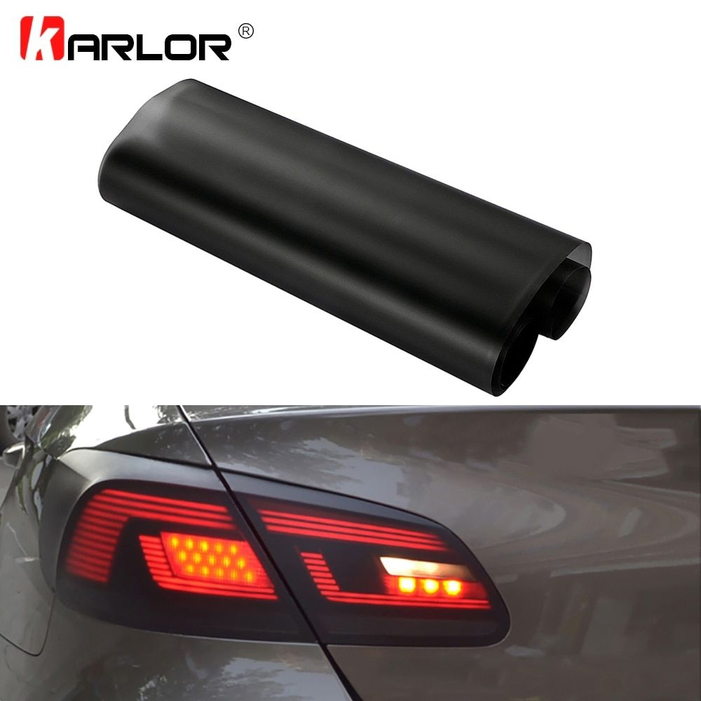 Introducing Our Lastest 30 150cm Matt Smoke Light Film Car Matte Black Tint Headlight Taillight Fog Light Vinyl Film Rea Light Film Tail Light Black Headlights