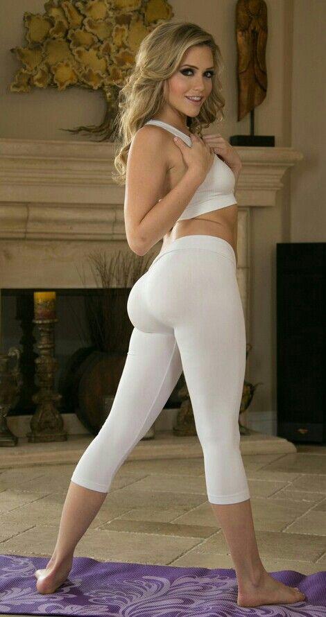 dildo in yoga pants