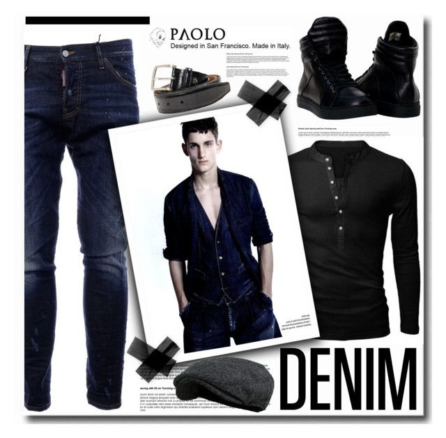 """In PaoloShoes"" by spenderellastyle ❤ liked on Polyvore featuring Dsquared2"