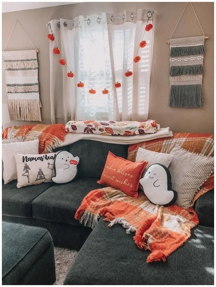 24++ Halloween living room ideas info