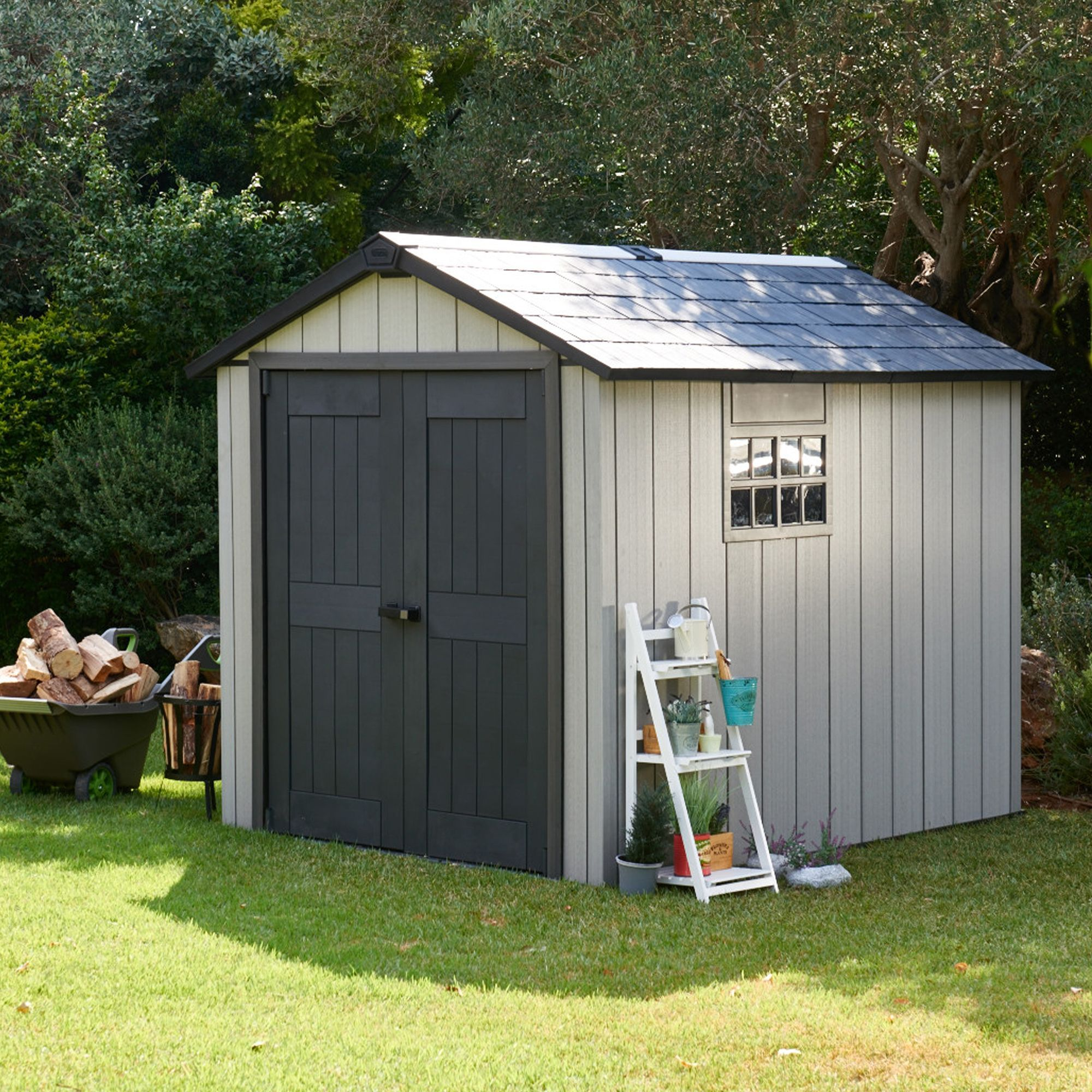 High Quality 7X9 Oakland Apex Shed | Departments | DIY At Bu0026Q