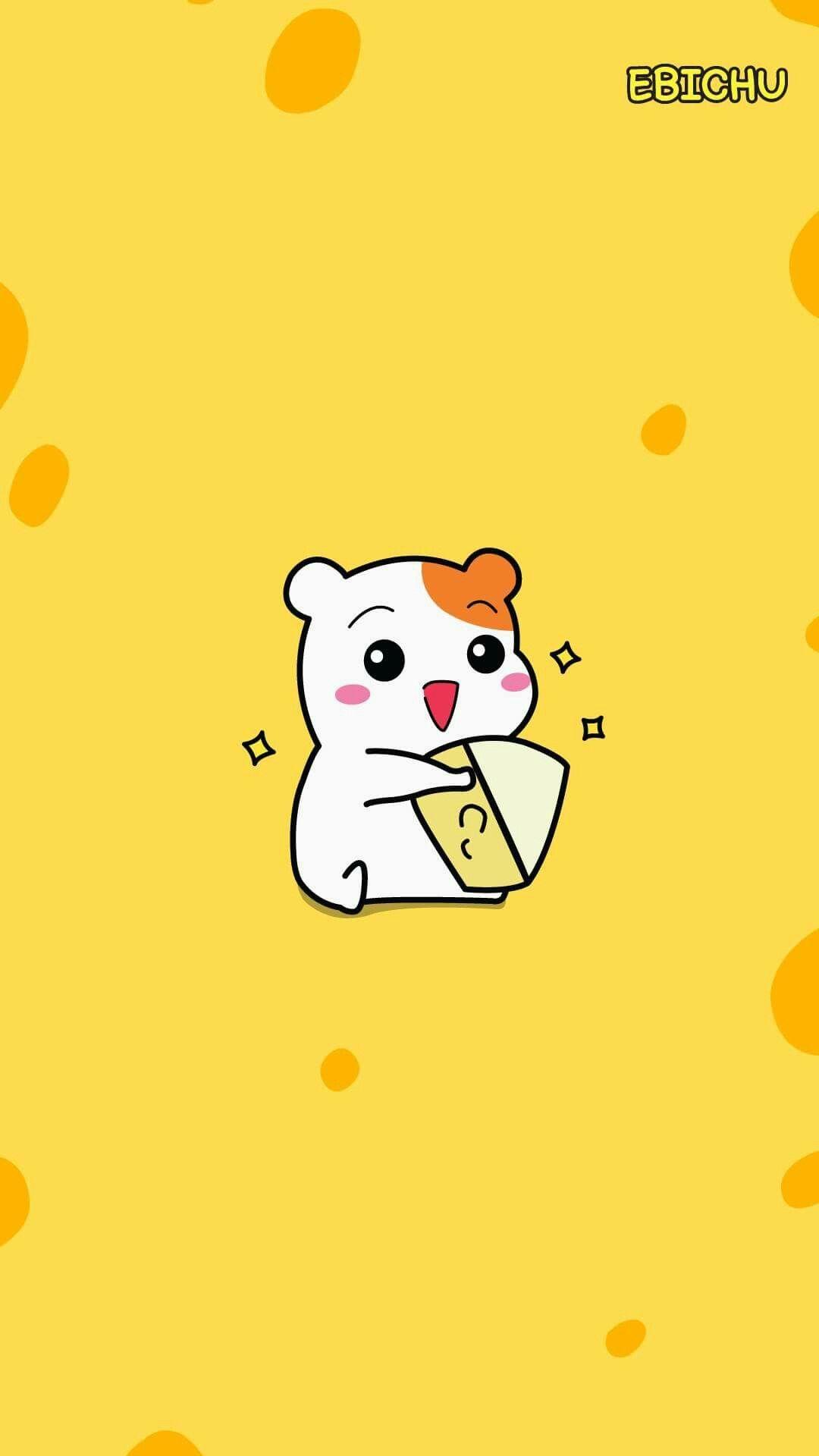 Iphone 6 Lock Screen Wallpaper Girl Ebichu Ebichu In 2019 Cute Wallpapers Kawaii
