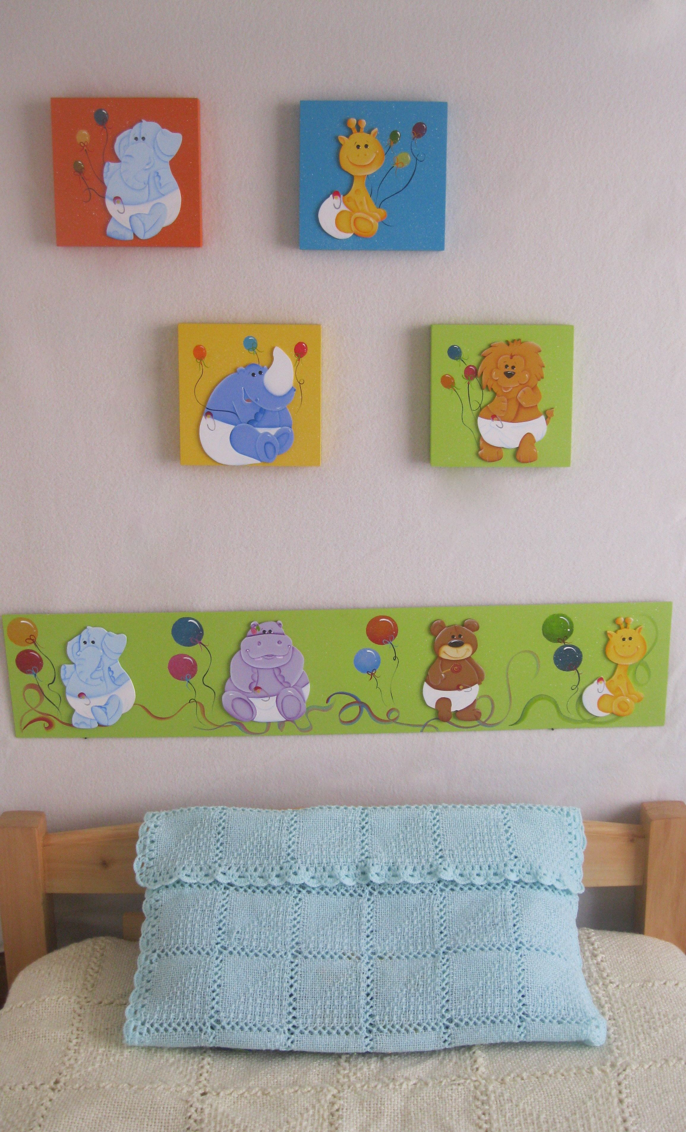 Cuadro y cenefa decorativa | Cosas que quiero probar | Baby, Baby ...