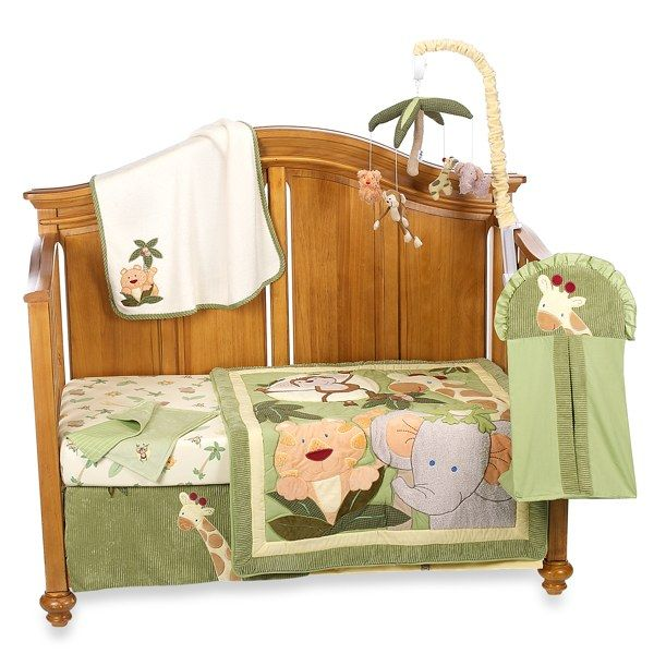 Nojo jungle babies crib bedding collection buybuy baby