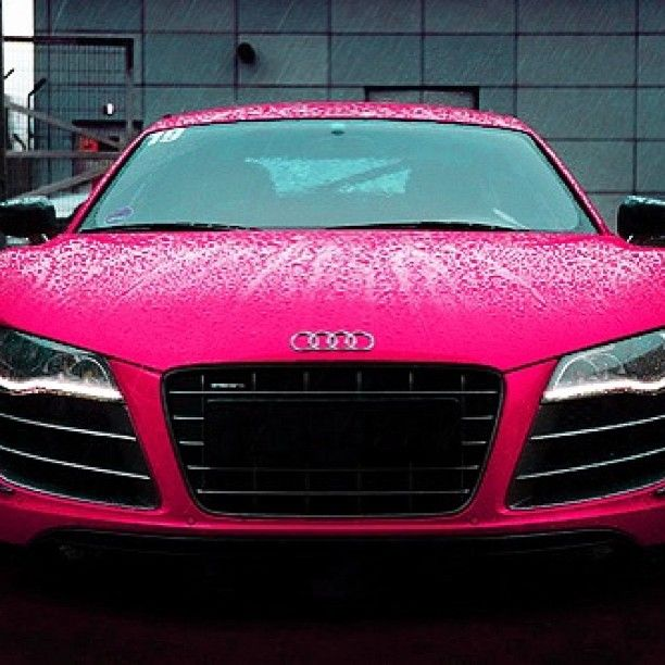 Hot Pink Audi R8 Lush Luxury Lifestyle Pinterest Hot Pink
