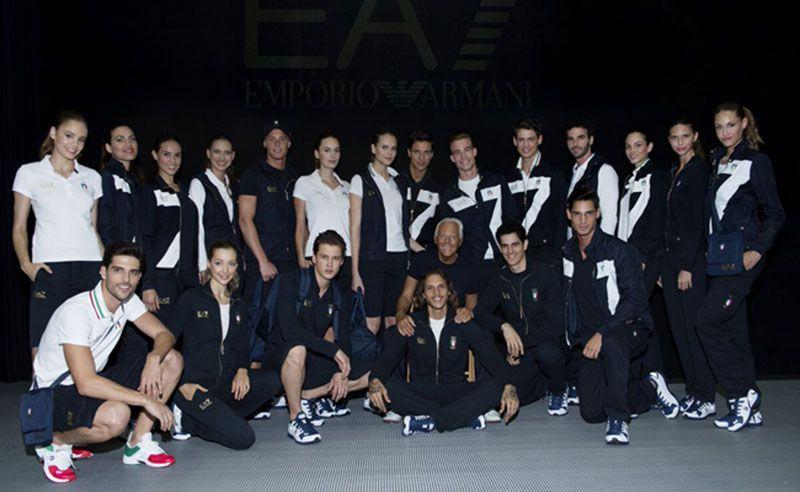 e39eb60aa2d00 ITALIA - Uniformes deportivos Olimpiadas 2016 by Armani