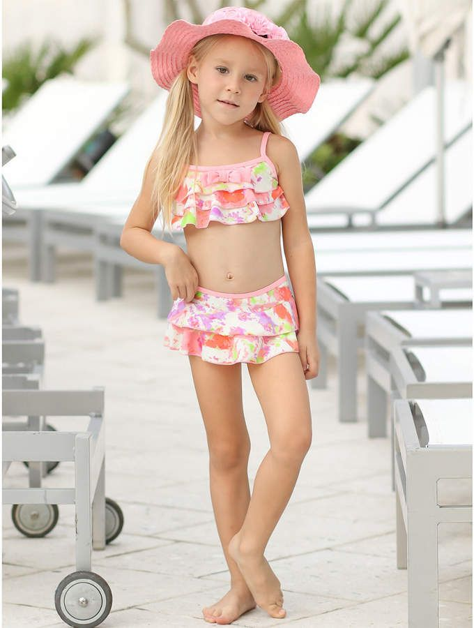 55f916703 Mia Belle Girls  Swimsuit