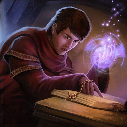Apprentice Magician By Pinkhavok On Deviantart Fantasy