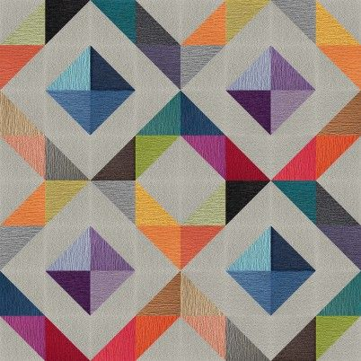Geometric Patterned Floor Tiles From Flor Colorpalette