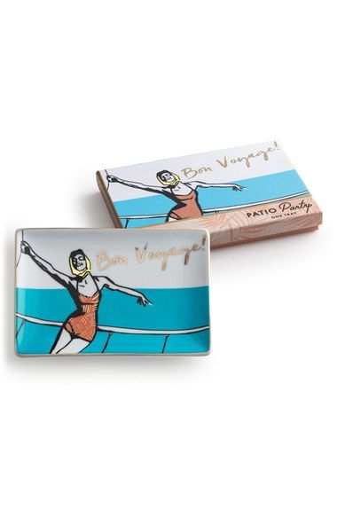 Rosanna 'Bon Voyage' Porcelain Tray available at #Nordstrom