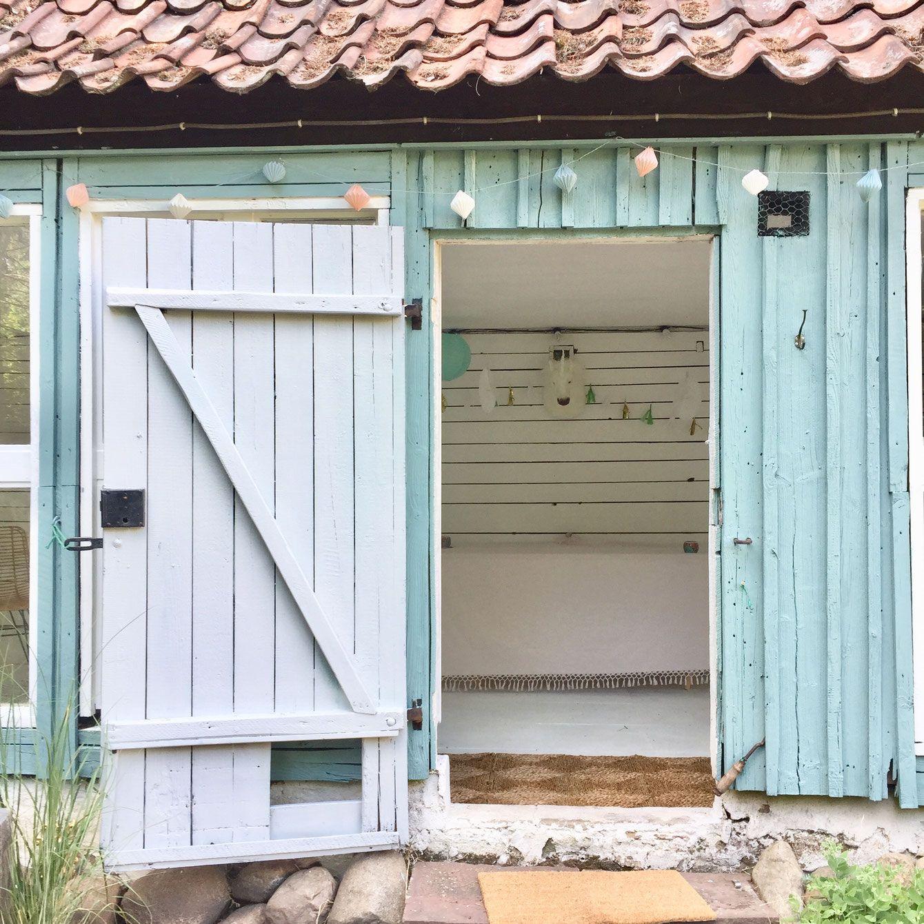 Lybstes Haus Gartenhaus Renovieren In Mint Und Grau Hauskauf2018 Interiordesign Gartenhaus Holzhutte Garten Gartenhaus Farbe
