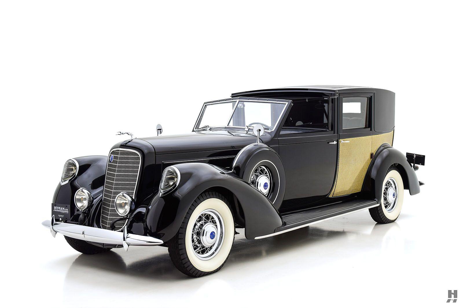 1937 LINCOLN MODEL K PANEL BROUGHAM | antique cars HYMAN LTO ...