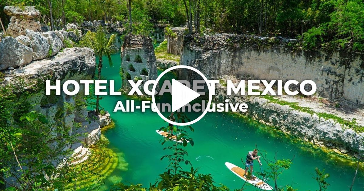 Hotel Xcaret Mexico Watch One Month In The All Fun Inclusive