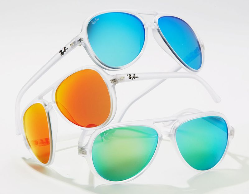 modelos de lentes ray ban espejados