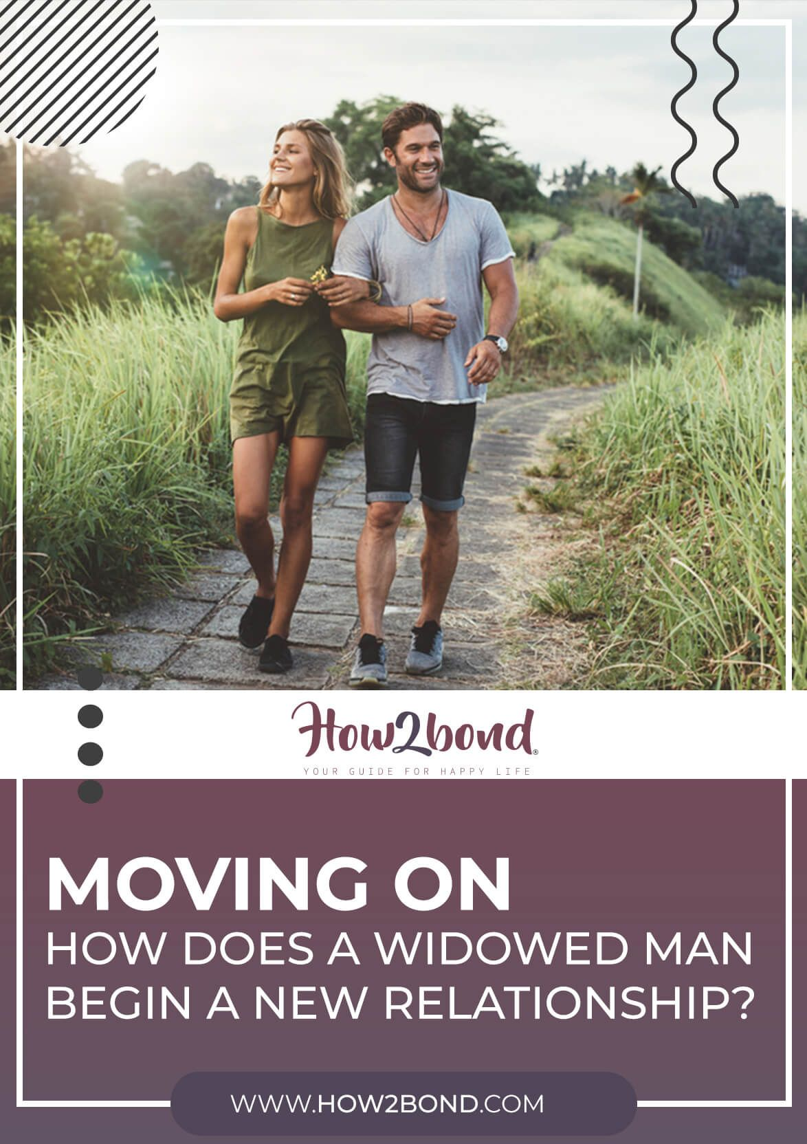 Moving on: How Does a Widowed Man Begin a New Relationship