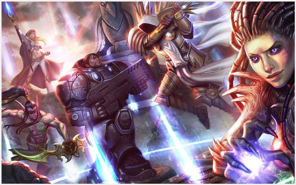 Heroes Of The Storm Wallpaper 1080p: Heroes Of The Storm Gaming Wallpaper