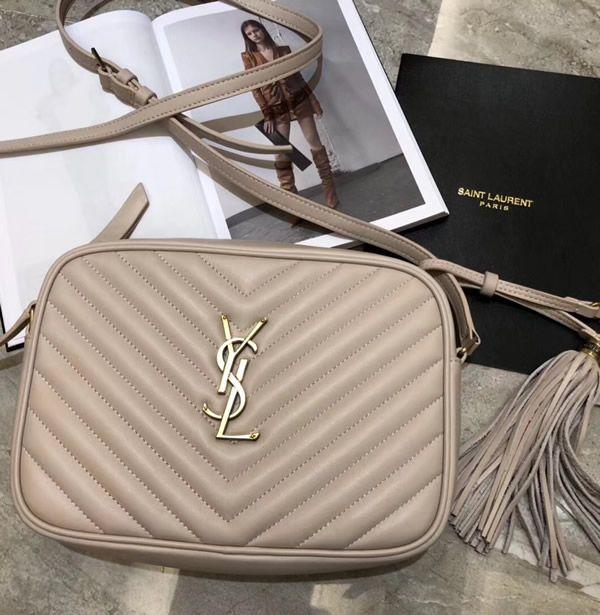 a6c22320b2a Saint Laurent Lou Camera Bag in Nude Pink Matelasse Leather Ysl, Dior,  Saint Laurent