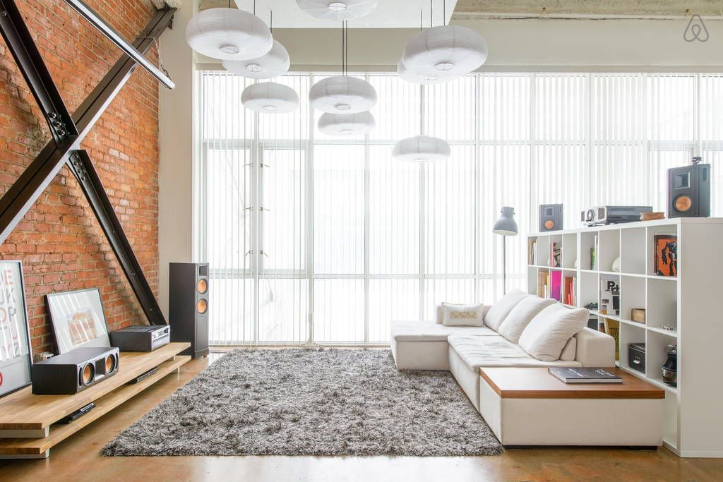 check out this awesome listing on airbnb creative loft in downtown