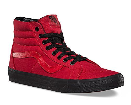 Black Outsole SK8 HI Reissue Racing Red