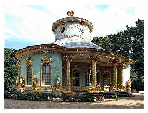 08 09 02 14 34 2 Potsdam Park Sanssouci Chinesischer Pavillon Johann Gottfried Buring Chinese Tea House Potsdam Tea House