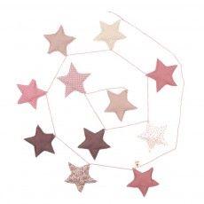 ghirlanda stelle - rosa Rosa
