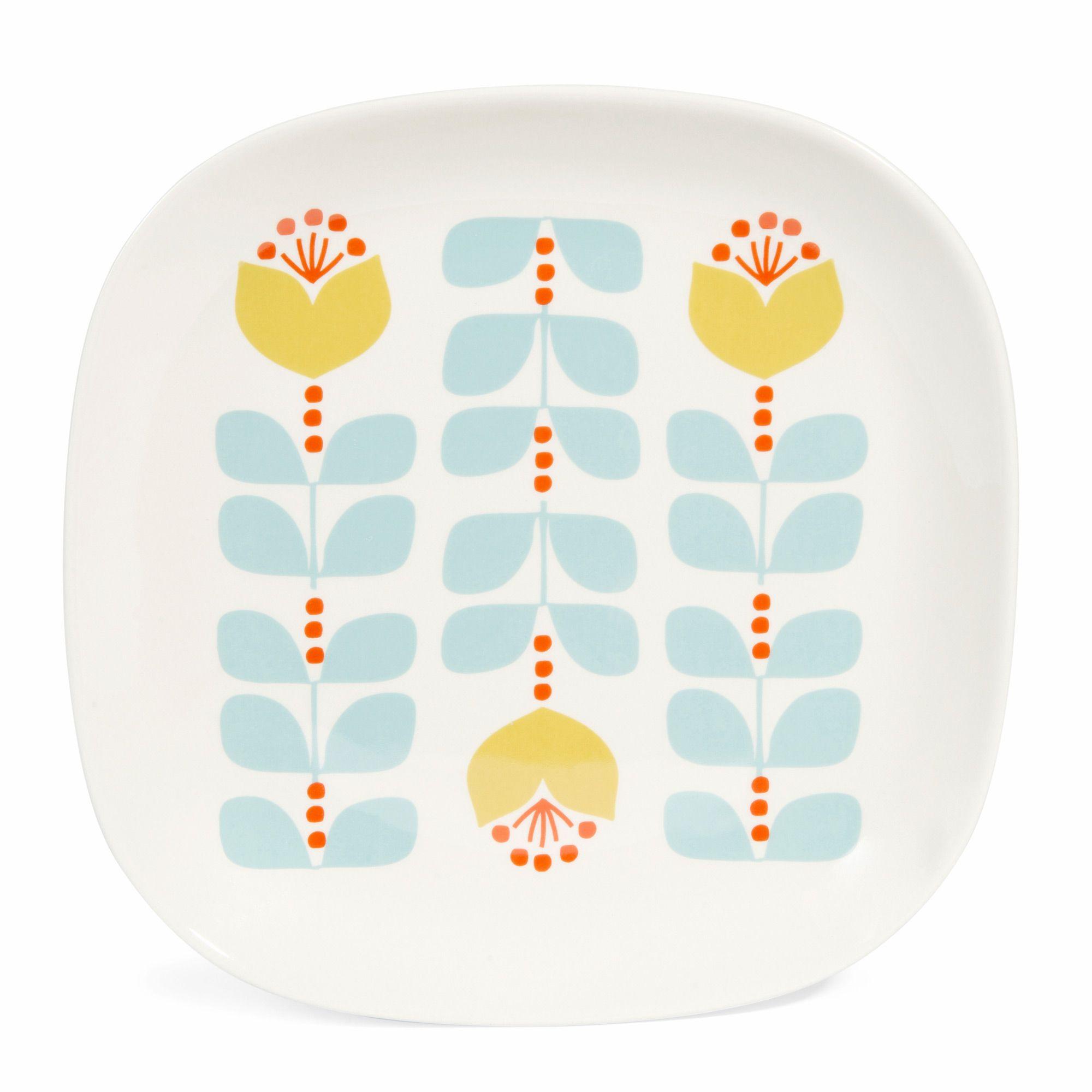 Assiette Verte Maison Du Monde #7: Assiette Plate Vintage En Faïence Bleue/verte BRIGITTE - Vendu Par 6. Assiette  Maison Du MondeDéco ...