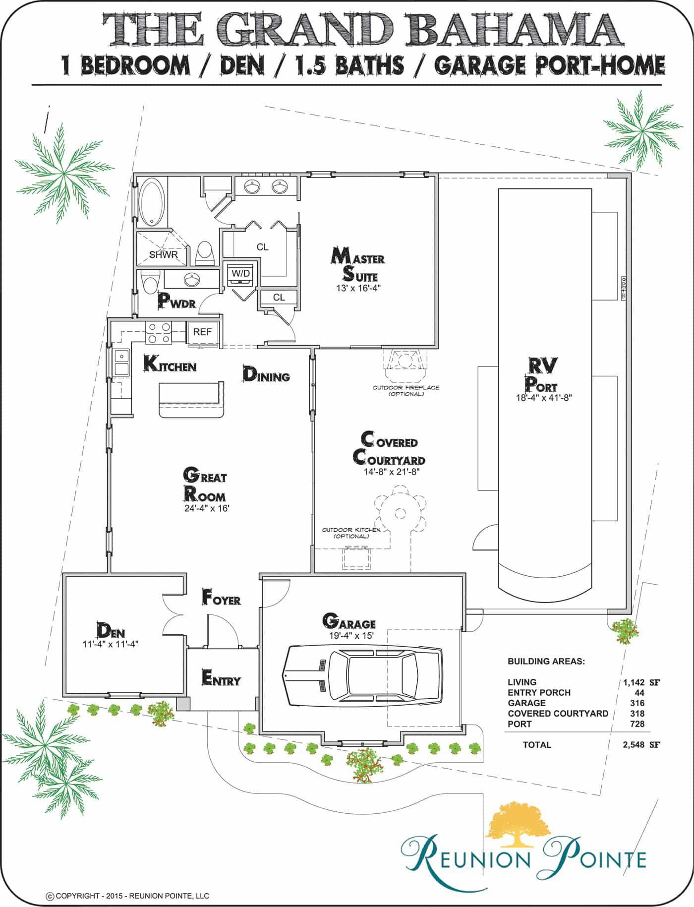 Grand Bahama Rv Port Home Model Floorplan Grand Bahama House Floor Plans Garage House Plans