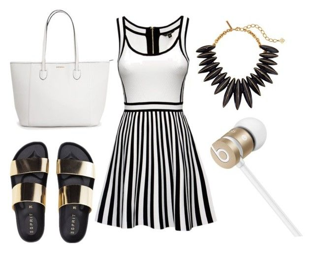 """""""cute"""" by hopedunigan ❤ liked on Polyvore featuring Oscar de la Renta and Beats by Dr. Dre"""
