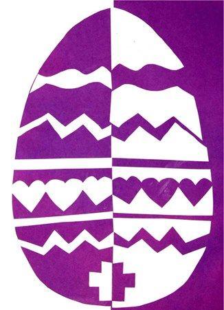 5th Grade Balance Pos Neg Space Easter Art Lessons Art